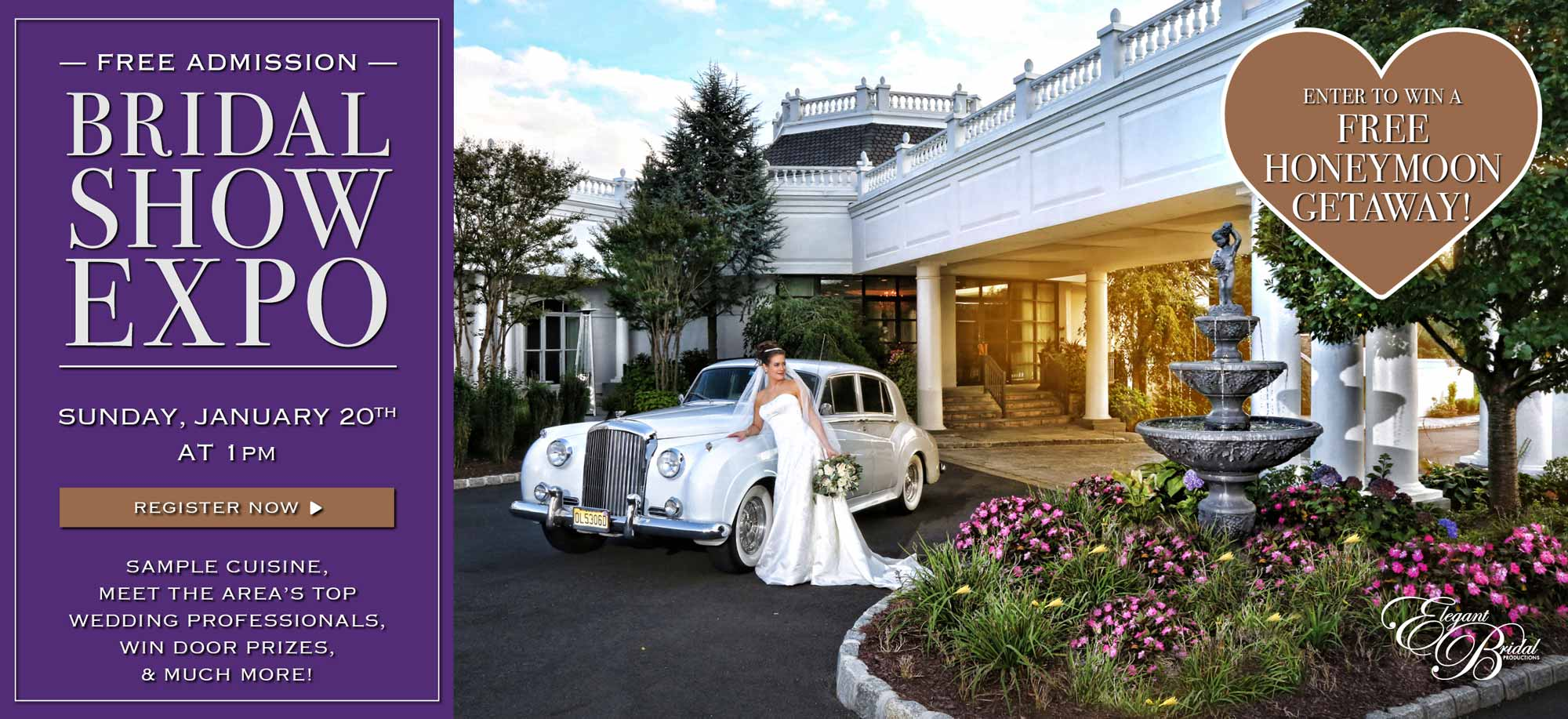 Mansion Bridal Expo Web Banner January 2019