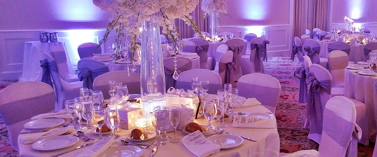 Ballroom Recpetion Tables