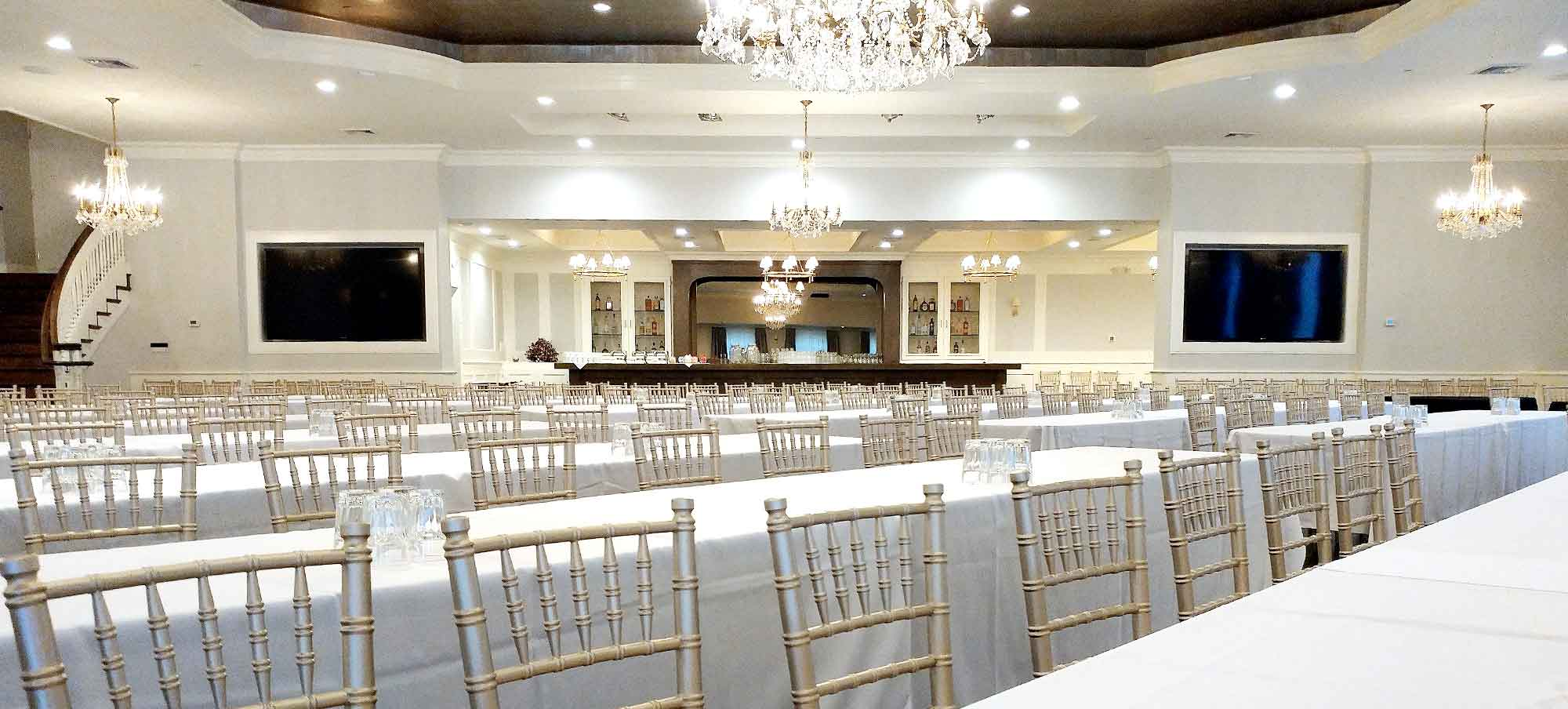 Corporate Event held in the Grand Ballroom