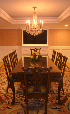 the mansion corporate board meeting room