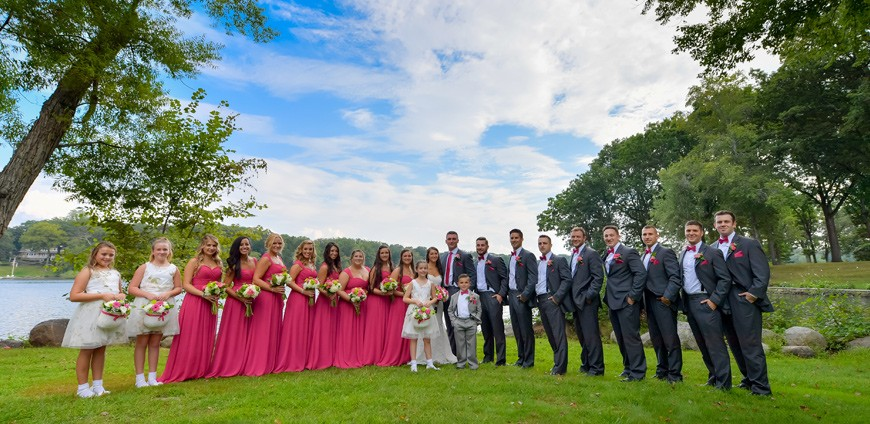Picture Perfect Wedding Portrait Locations at The Mansion & Mountain Lakes