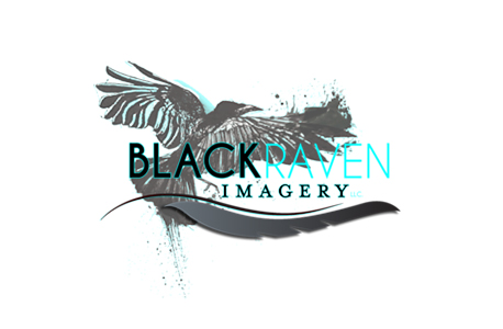 black raven imagery