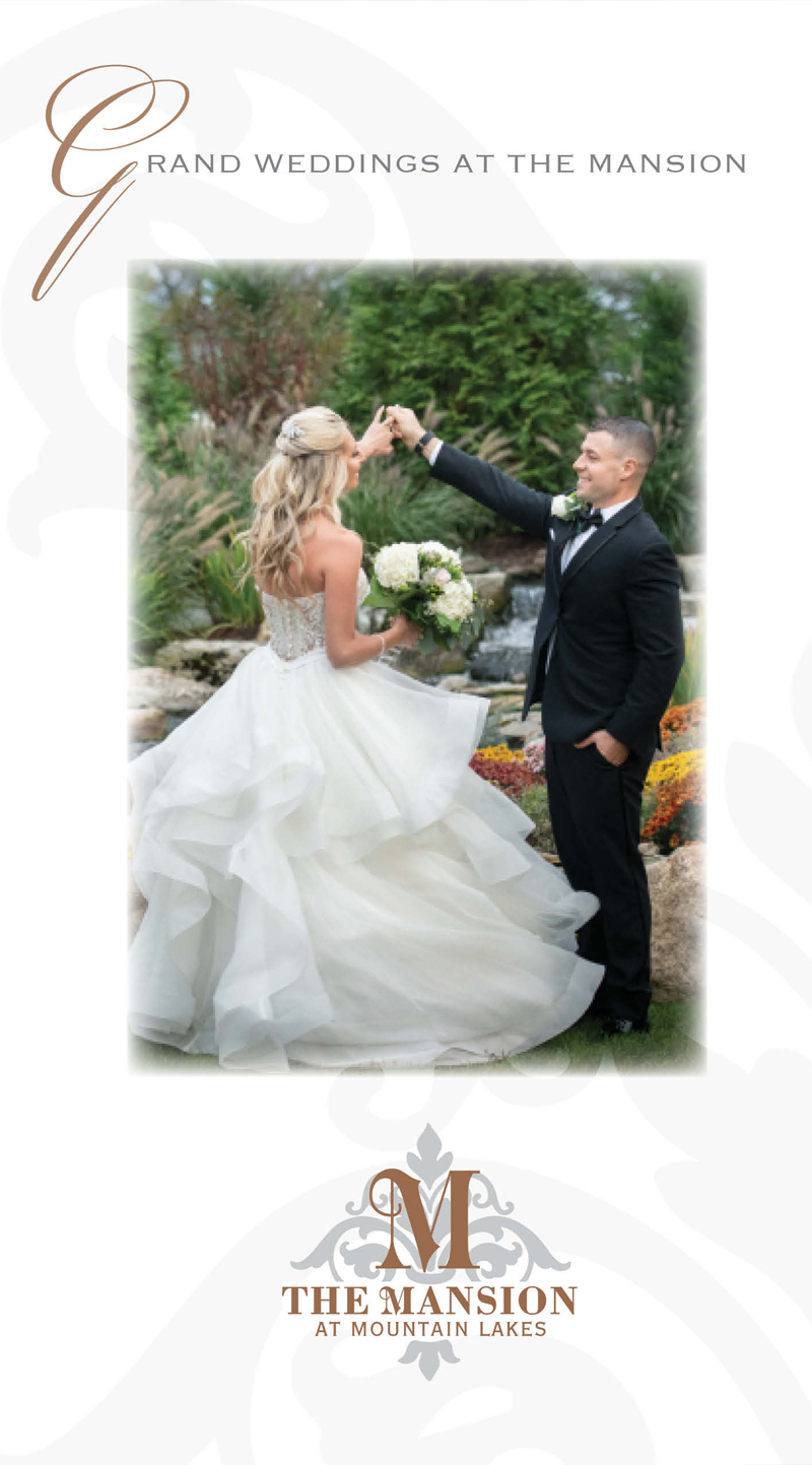 The Mansion at Mountain Lakes wedding Brochure