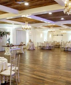 Rustic Wedding Reception Belhall Grand Ballroom