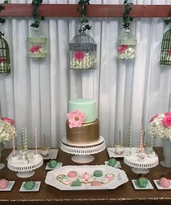 Baby Shower Cuisine Cakes Cookies Venue