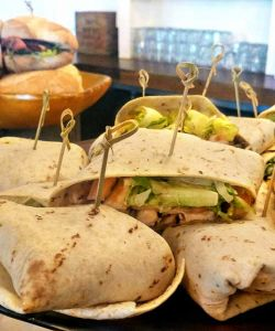 Corporate Cuisine Sandwhiches Wraps