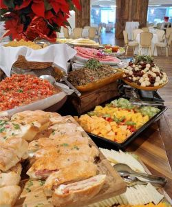 Delicious Gourmet Catered Cuisine For Parties Events And Weddings