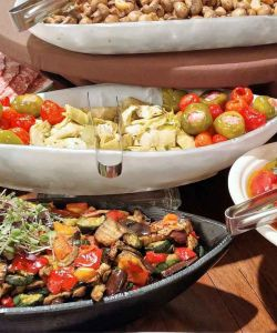 Fresh Catering Salads For Event And Wedding