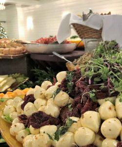 Fresh Delicious Catered Event Reception Cuisine Salad Buffet