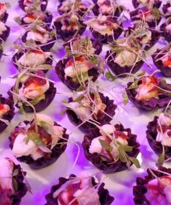 Fresh Gourmet Caterer Buffet Appetizer