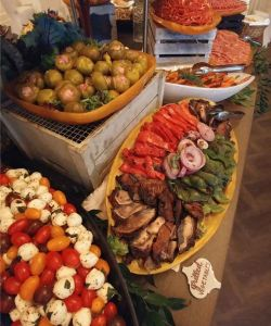 Fresh Gourmet Event Catering Buffet