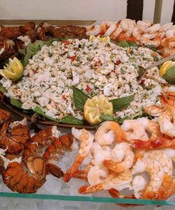 Fresh Seafood Bar Event Recpetion Catering