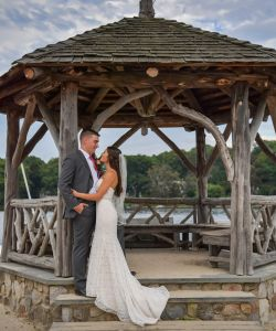 Gazebo Bride Groom Nj Wedding Venue
