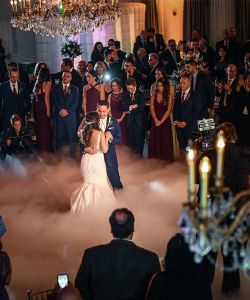 Grand Ballroom Rustic New Jersey Wedding Reception Venue