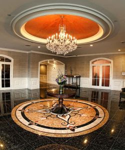 Marble Foyer Entrance