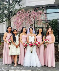 New Jersey Bride With Bridesmaids Wedding Venue