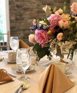 Rustic Elegant Social Party Event Bridal Shower Table Decor